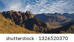 amazing sunrise at sinai... | Shutterstock . vector #1326520370