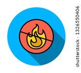 not allowed   fire   flame   | Shutterstock .eps vector #1326550406