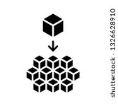microservices icon. vector   Shutterstock .eps vector #1326628910