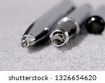 set of pens for writing on a... | Shutterstock . vector #1326654620