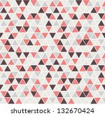 seamless triangle pattern.... | Shutterstock .eps vector #132670424