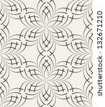 vector seamless pattern. modern ... | Shutterstock .eps vector #132671210