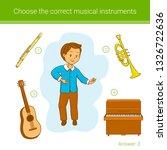 children education game. choose ... | Shutterstock .eps vector #1326722636