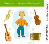 children education game. choose ... | Shutterstock .eps vector #1326722639