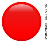illustration of a red button... | Shutterstock . vector #1326727739