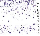 falling stars confetti...   Shutterstock .eps vector #1326731819
