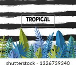 trendy summer template with... | Shutterstock .eps vector #1326739340