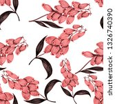 seamless pattern with hand... | Shutterstock . vector #1326740390