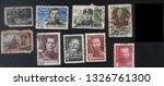 ussr    1945 1980   a set of... | Shutterstock . vector #1326761300