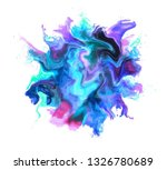 colorful powder explosion of...   Shutterstock . vector #1326780689