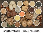 health food for a high fibre... | Shutterstock . vector #1326783836