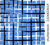 vector seamless mid century... | Shutterstock .eps vector #1326823619