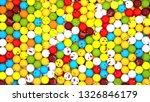 3d rendering. emoji ball  | Shutterstock . vector #1326846179