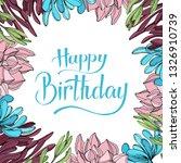 jungle botanical succulent... | Shutterstock . vector #1326910739