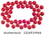 horizontal close up shot of red ... | Shutterstock . vector #1326914966