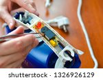 disassembly and repair of...   Shutterstock . vector #1326926129