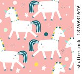 seamless pattern with magic... | Shutterstock .eps vector #1326931649
