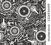 bicycles. seamless pattern of... | Shutterstock .eps vector #1326936449