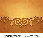 vintage background  antique... | Shutterstock . vector #132695396