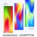 blurred gradient vector...