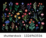 large set of beautiful... | Shutterstock .eps vector #1326963536