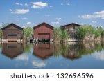 Traditional Fishing Huts At...