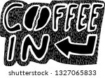 coffee in black background with ...   Shutterstock .eps vector #1327065833