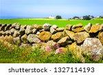 summer farmland stone fence... | Shutterstock . vector #1327114193