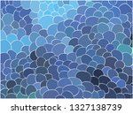 abstract background with curved ... | Shutterstock .eps vector #1327138739
