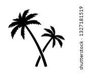 palm tree coconut tree vector...   Shutterstock .eps vector #1327181519