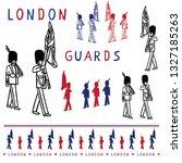 Sketchy London Royal Guard...