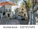 lisbon  alfama portugal... | Shutterstock . vector #1327217693