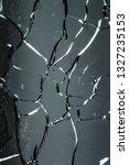 broken glass wallpaper   Shutterstock . vector #1327235153