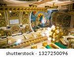 saint petersburg  russia ... | Shutterstock . vector #1327250096