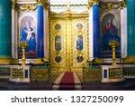 saint petersburg  russia ... | Shutterstock . vector #1327250099
