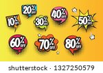 colorful comic style sale... | Shutterstock .eps vector #1327250579