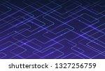 technological digital blue... | Shutterstock .eps vector #1327256759