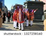 zagreb  croatia  10 february... | Shutterstock . vector #1327258160