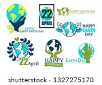 ecology and environment... | Shutterstock .eps vector #1327275170