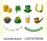 happy st patricks day | Shutterstock .eps vector #1327370096