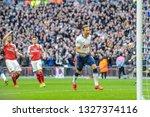 london  england   march 02 2019 ...   Shutterstock . vector #1327374116