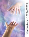 dear god i need your help... | Shutterstock . vector #1327407659