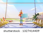3d illustration. cartoon... | Shutterstock . vector #1327414409