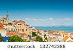 bairro alto as seen from the... | Shutterstock . vector #132742388