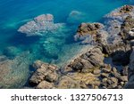 the relief of the seabed and... | Shutterstock . vector #1327506713