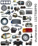 collage parts for auto isolated ...   Shutterstock . vector #1327508990