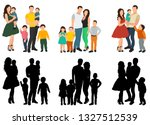 vector  isolated  flat style ... | Shutterstock .eps vector #1327512539
