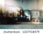blurred background of carpentry ... | Shutterstock . vector #1327518479