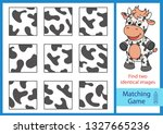 matching game. find two... | Shutterstock .eps vector #1327665236