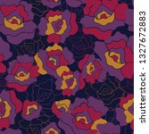 seamless repeat pattern with... | Shutterstock .eps vector #1327672883